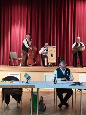 Start mit dem Harzklub-Trio