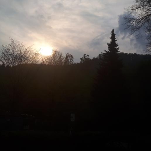 Wenn es Abend wird im Harz
