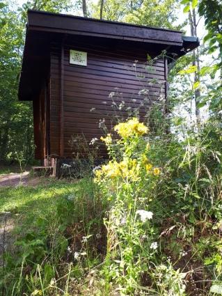 Schutzhütte in neuem Glanz